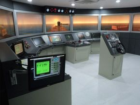 Targeted to offer a handy solution to ship maneuvering training, #ARI bridge #simulators are available in a range of configurations. These simulators are installed in most of the training institutes of high repute across the globe.