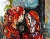 Artworks+of+Ruth+Schloss+(Israeli,+1922)