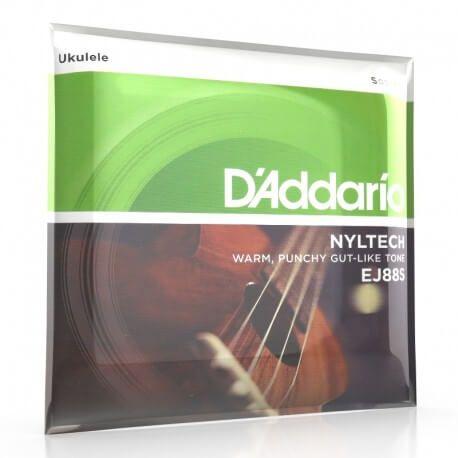 D'Addario Nyltech EJ88S - cordes pour ukulele soprano