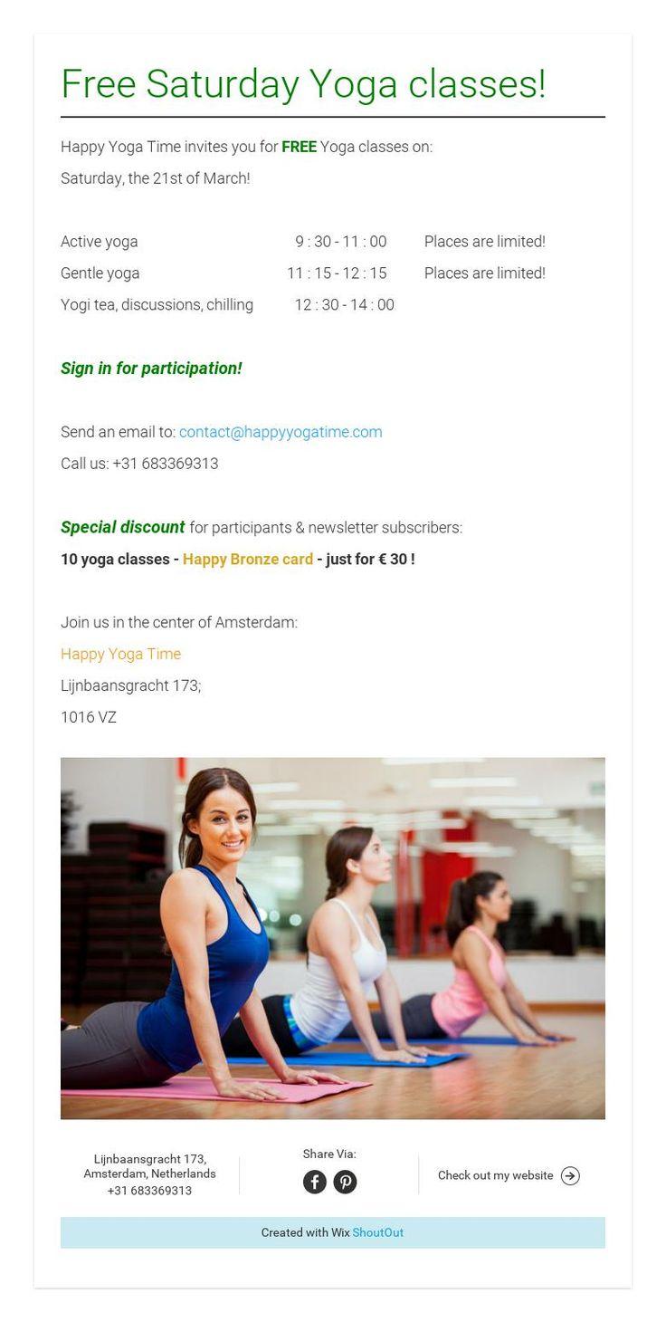 Happy Yoga Time happyyogatime on Pinterest