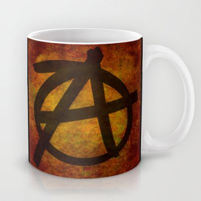 Distressed Anarchy Mug by Bruce Stanfield - $15.00Distressed Anarchy Art Print by Bruce Stanfield ed, war, art, sign, dark, icon, wall, free, anti, punk, rough, chaos, black, shape, youth, symbol, design, grungy, sketch, grunge, culture, liberty, graphic, freedom, drawing, texture, anarchy, politics, graffiti, movement, anarchist, anarchism, different, political, government, revolution, background, illustration, sub culture, establishment, anti establishment #Anarchy
