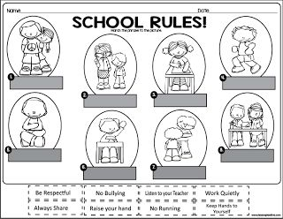 ... Rules Activities on Pinterest | Class rules, Kindergarten rules and