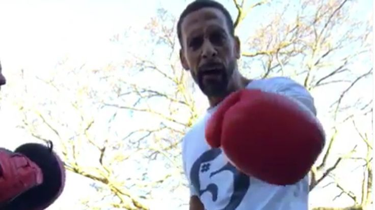 Rio Ferdinand set to embark on professional boxing career