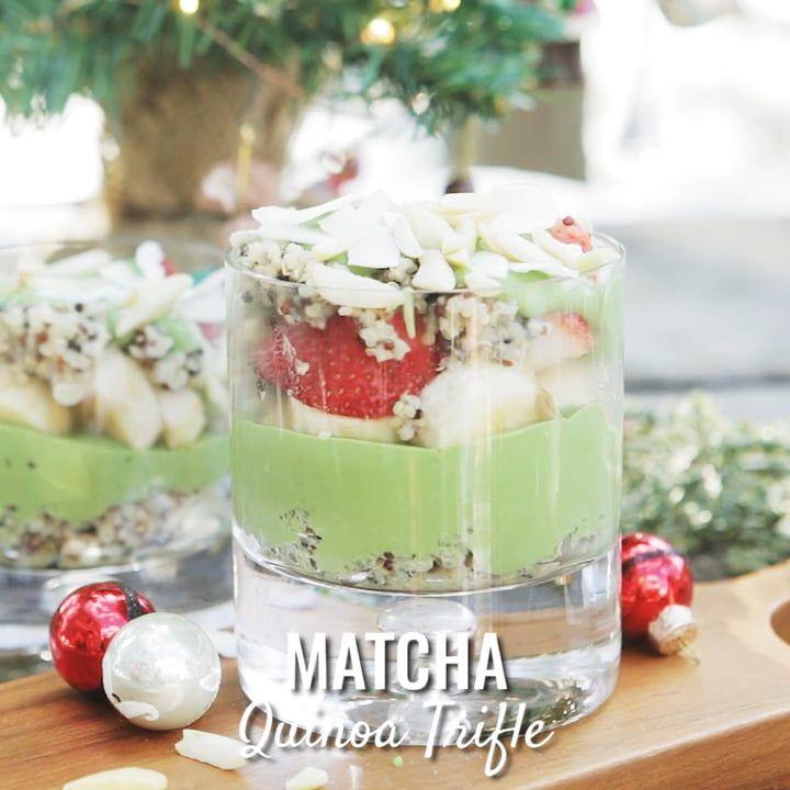 Matcha Quinoa Trifle