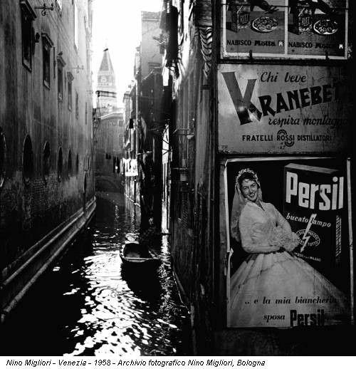 nino migliori, 'venezia', 1958.