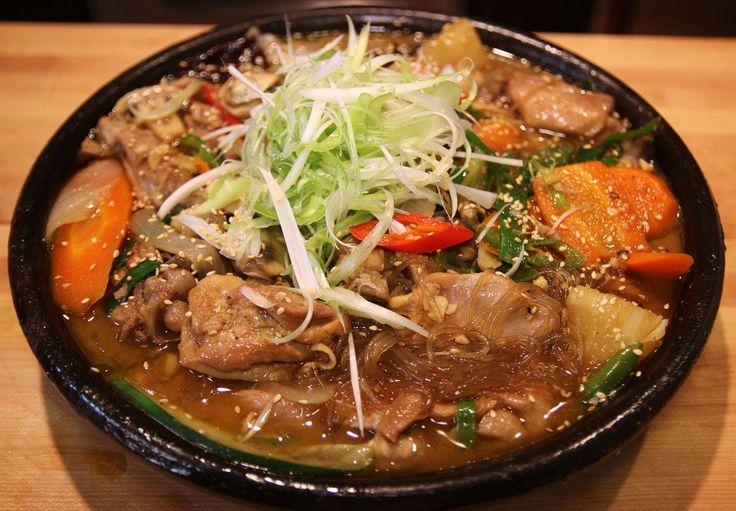 Braised chicken with vegetables (Dakjjim: 닭찜)  - MANGCHI RECIPE