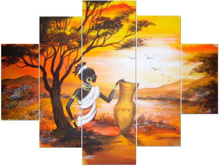 17 mejores ideas sobre cuarto africano en pinterest - Cuadros en relieve modernos ...