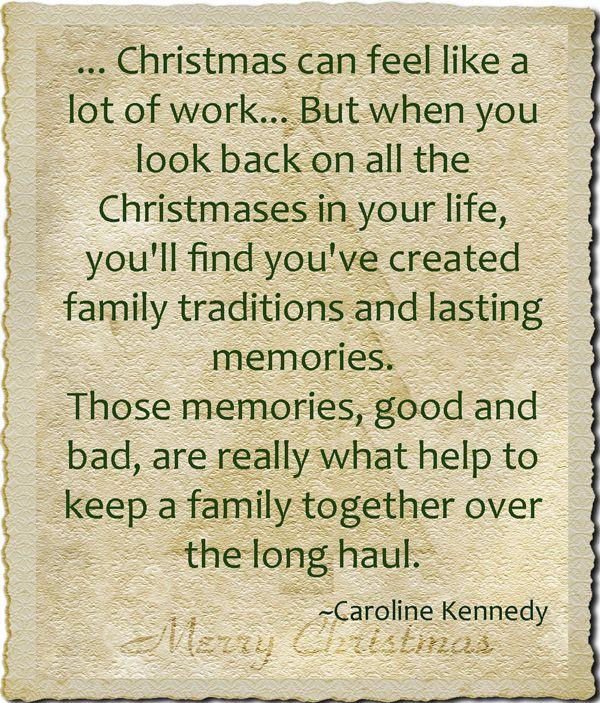 Christmas And Making Memories
