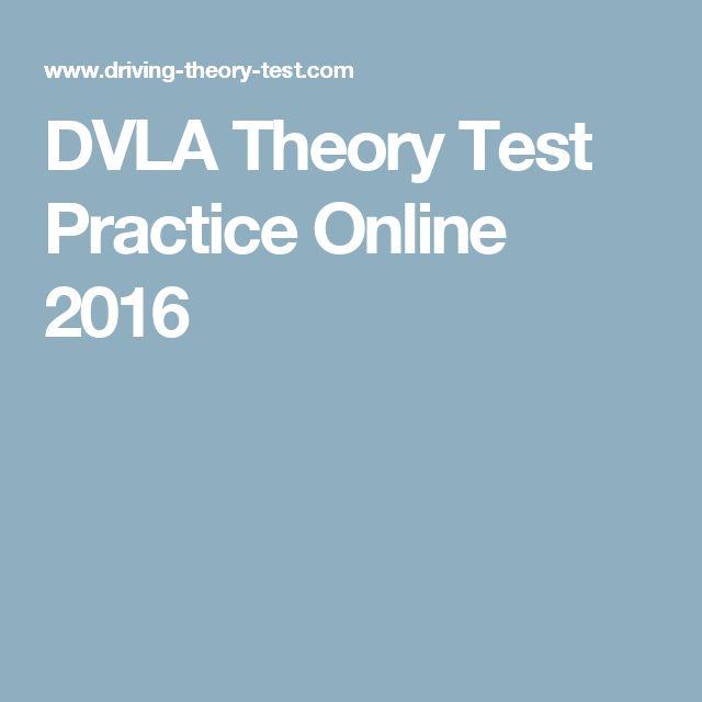 DVLA Theory Test Practice Online 2016