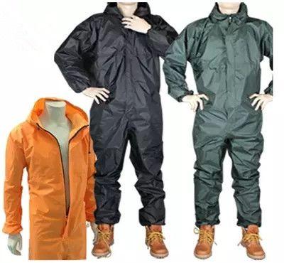 Mode moto imperméable/imperméable Conjoint/salopette hommes et femmes fission combinaison de pluie manteau de pluie