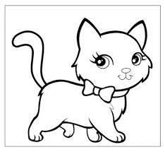Risultati immagini per gatto da colorare (con immagini ...