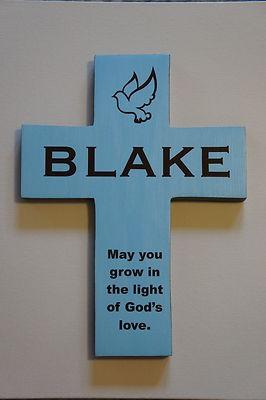 I'd like to make for Clayton's baptism.