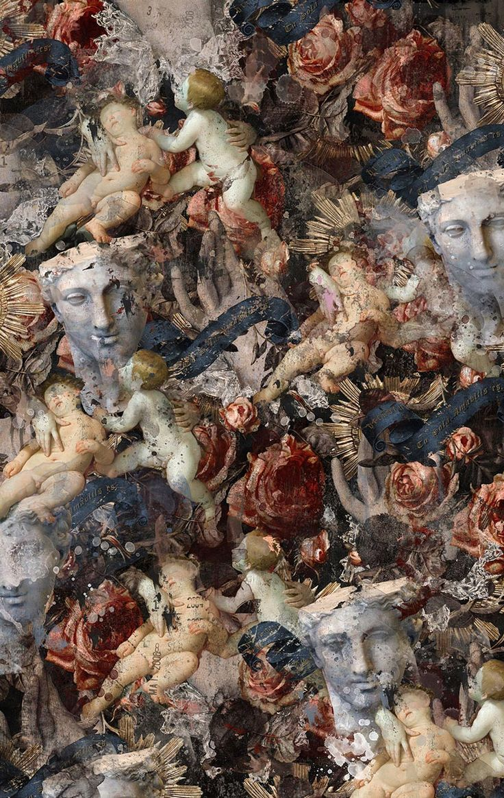 <p>Not much information online on Korean digital artist Ouzo Kim. Here we'd like to explore his work and more specifically his Renaissance mixed-media collage. A little bit dark yet an interesti