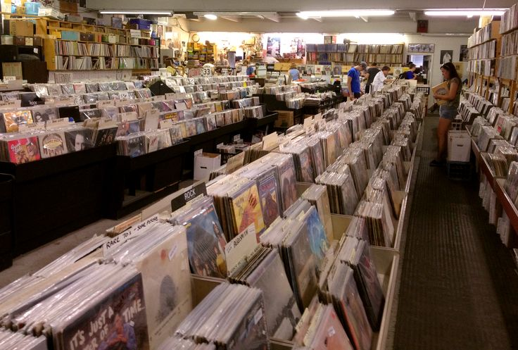 Jerry's Records. Pittsburgh, PA. The BEST record store in the USA. Period.