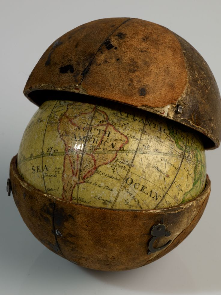 This pocket globe is just three inches in diameter. It was made in 1793 by Scotsman John Miller. British Library | WIRED.com