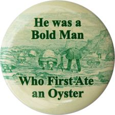 """#62 """"He was a Bold Man Who First Ate an Oyster"""" - Jonathan Swift #quote"""