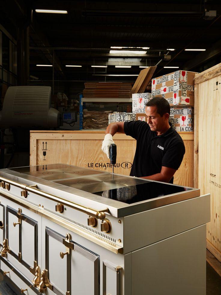 47 best la cornue factory images on pinterest la cornue. Black Bedroom Furniture Sets. Home Design Ideas