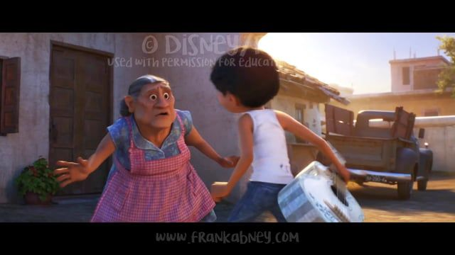 """I got permission to post a progression for some of the shots I animated on """"Coco"""", for educational purposes. It was a huge honor to work on this film. Let me know if you have any questions, I'll do my best to answer them! :)    Music- property of Walt Disney Records/Pixar"""