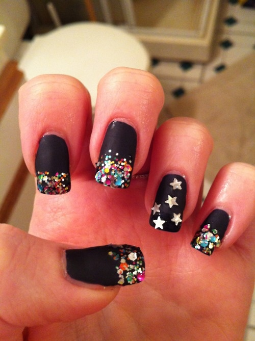 The 192 best New Years Nail Art images on Pinterest | Nail art ideas ...