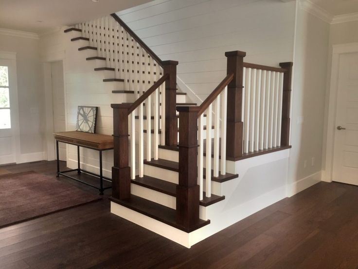 Best Wide Plank Hardwood Hickory Flooring Stair Treads Newel Posts And Handrails Wph Hickory 400 x 300