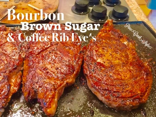 Bourbon Brown Sugar...Hubby says this is the best & juiciest ribeye he ...