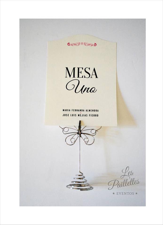 Numeros de Mesas /  Table Number #wedding #ideas #table #numbers #decoration #mesa #nnumeros #vintage #romantic