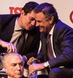 """Marcelo Odebrecht delatou depósito de R$ 50 milhões para Aécio Neves no exterior, será se vão deixar """"prescrever"""" essa também?"""