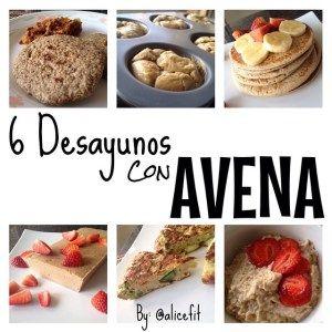 6 opciones para desayunar con Avena