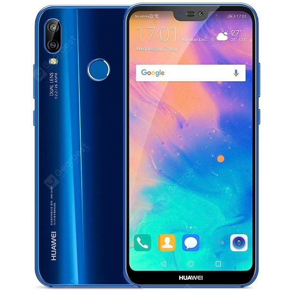 Huawei P20 Lite Blue Cell Phones Sale Price Reviews With Images Smartphone Projector Motorola Phone Phablet