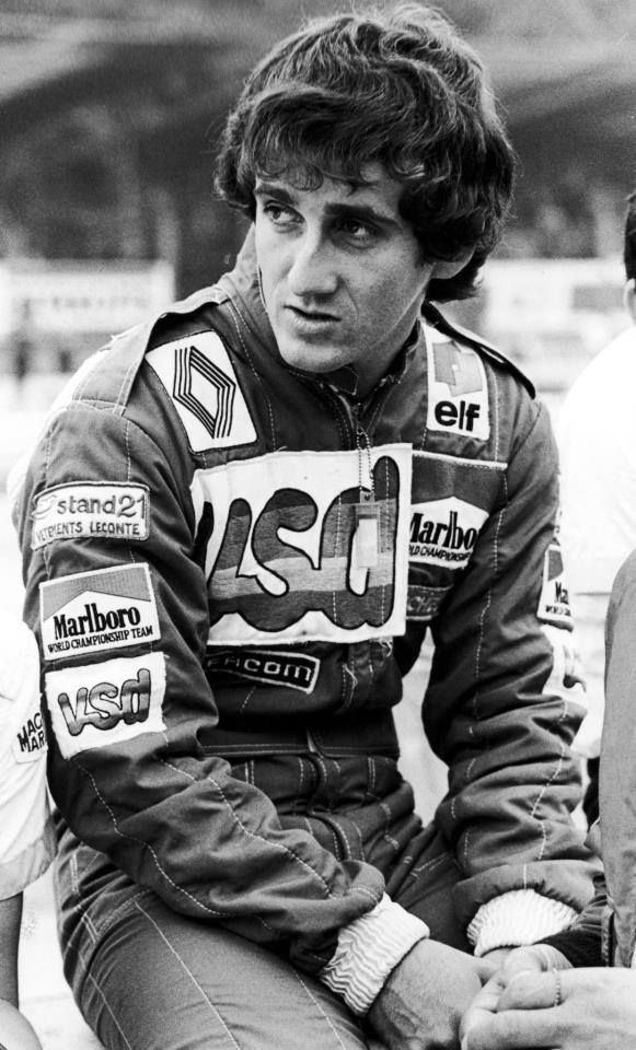 Alain Prost Equipe Renault Elf RE30 V6. Italian Grand Prix, Monza 1981