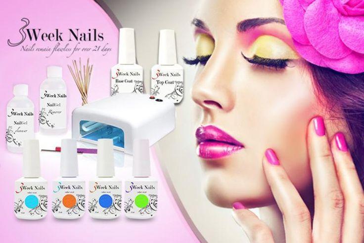 12pc Home UV Gel Manicure Kit