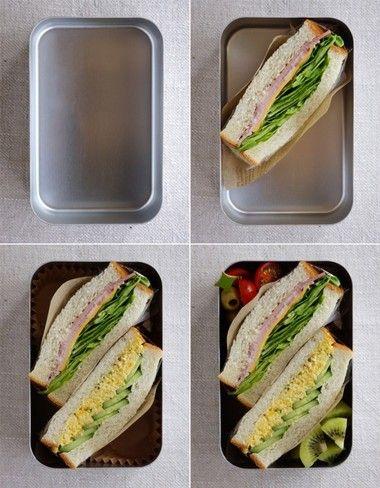 まずここから!基本のお弁当の詰め方~サンドイッチ弁当