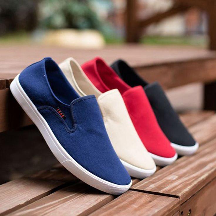 Para Hombre Zapatos de lona transpirable antideslizante en verano Casual Comfort Nuevo Moda Low Top | Ropa, calzado y accesorios, Calzado para hombres, Informal | eBay!