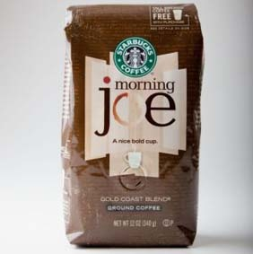 Our morning joe in the Jeffrey house! LOVE this coffee!