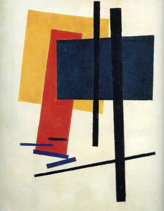 """Suprematism"" by Kazimir Malevich (1915)"