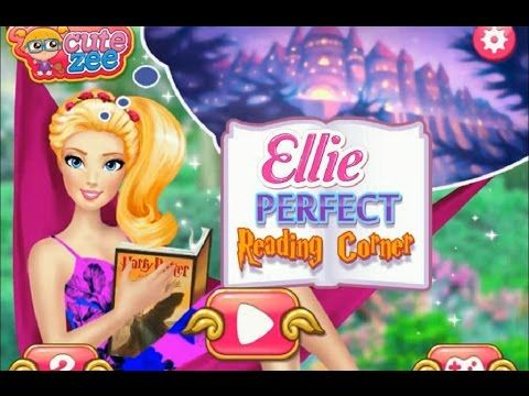 Ellie s Perfect Reading Corner Kids Girl Game ! Fun Activity for Kids