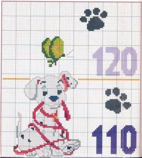 101 Dalmatian growth chart 4 of 6