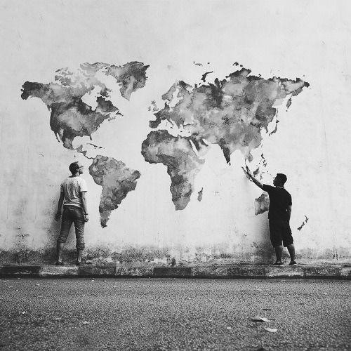 grafika world, art, and black and white
