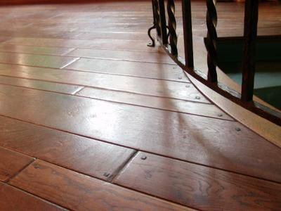Homeowner Review Of Wood Floor Wax Refinish. We Had Special Old Plank Floors,  Widths