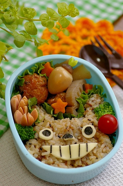 Food Totoro. AWESOME.