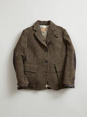 【AW16 WOMAN】ブリティッシュハンティングジャケット(ツイード) / BRITISH HUNTING JACKET(TWEED)|Collection|ナイジェル・ケーボンウーマン|Nigel Cabourn WOMAN 公式サイト