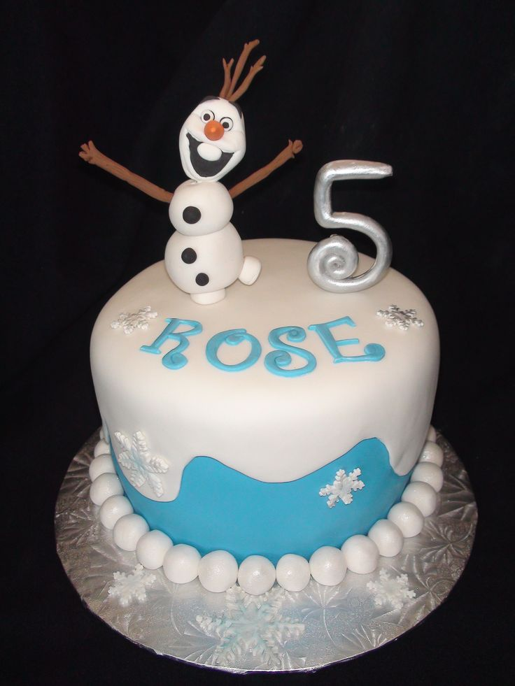 Olaf reine des neiges cake création maman gateau