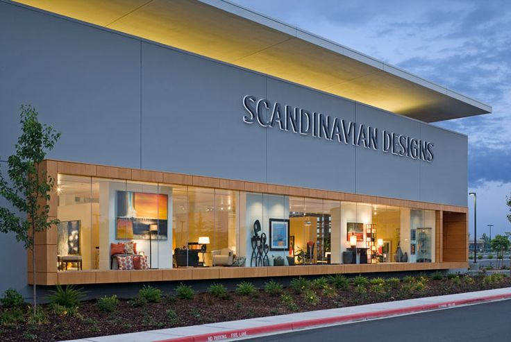 Furniture Stores Daytona Beach Fl Retail Storefront Design Ideas This 40 000 SF Big Box Retail