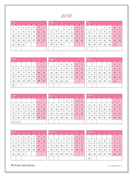 Calendario 2021 Con Festivita Da Stampare.Calendario 2018 42ld Viole E Ale Calendario Stampabile