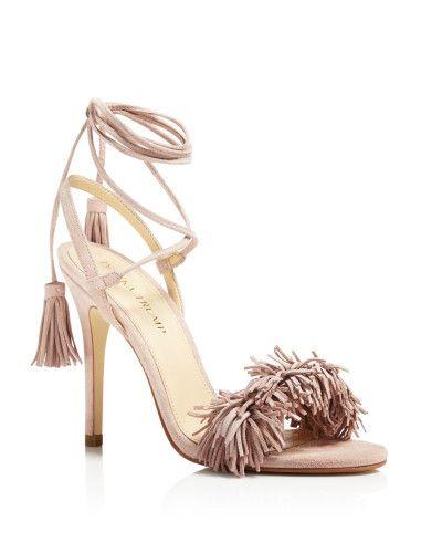 Ivanka Trump | Pink Hettie High Heel Sandals | Lyst