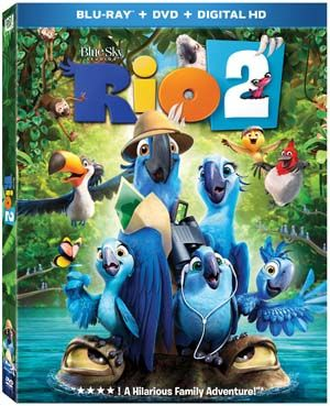 7 Things About the Rio 2 Blu-ray - get a free lunchbox at Best Buy