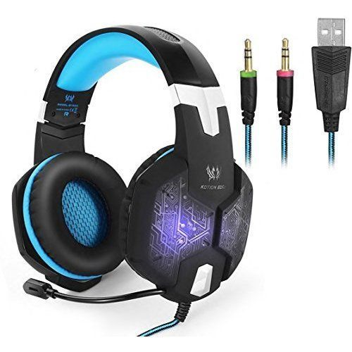 Wired Gaming Headset USB Surround Sound With LED Light Microphone Headphones New #UnbrandedGeneric