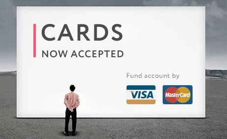Now accepted #cards #visa #mastercard #worldcore