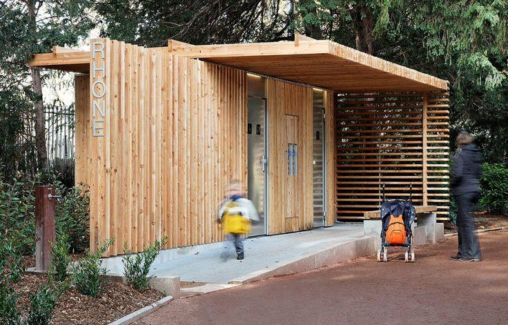 Public Toilets in the Tête d'Or Park - Jacky Suchail Architecte