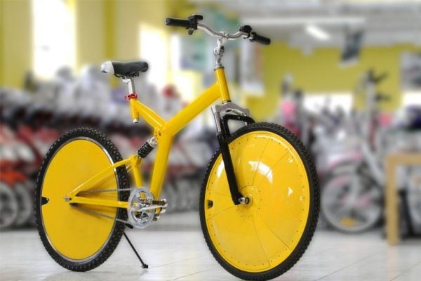 Shadow Ebike, the world's first wireless electric bicycle